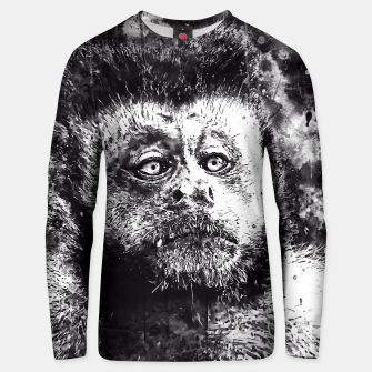 bored monkey wsbw Unisex sweater thumbnail image