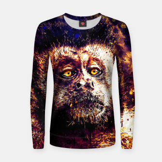 bored monkey wsls Women sweater thumbnail image