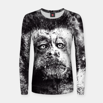 bored monkey wsbw Women sweater thumbnail image