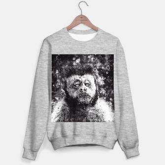 bored monkey wsbw Sweater regular thumbnail image