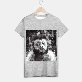bored monkey wsbw T-shirt regular thumbnail image