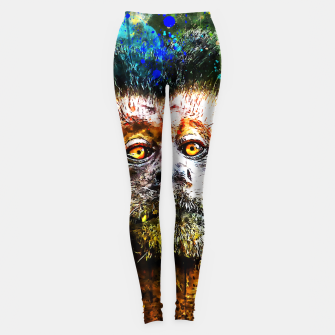 bored monkey wsstd Leggings thumbnail image