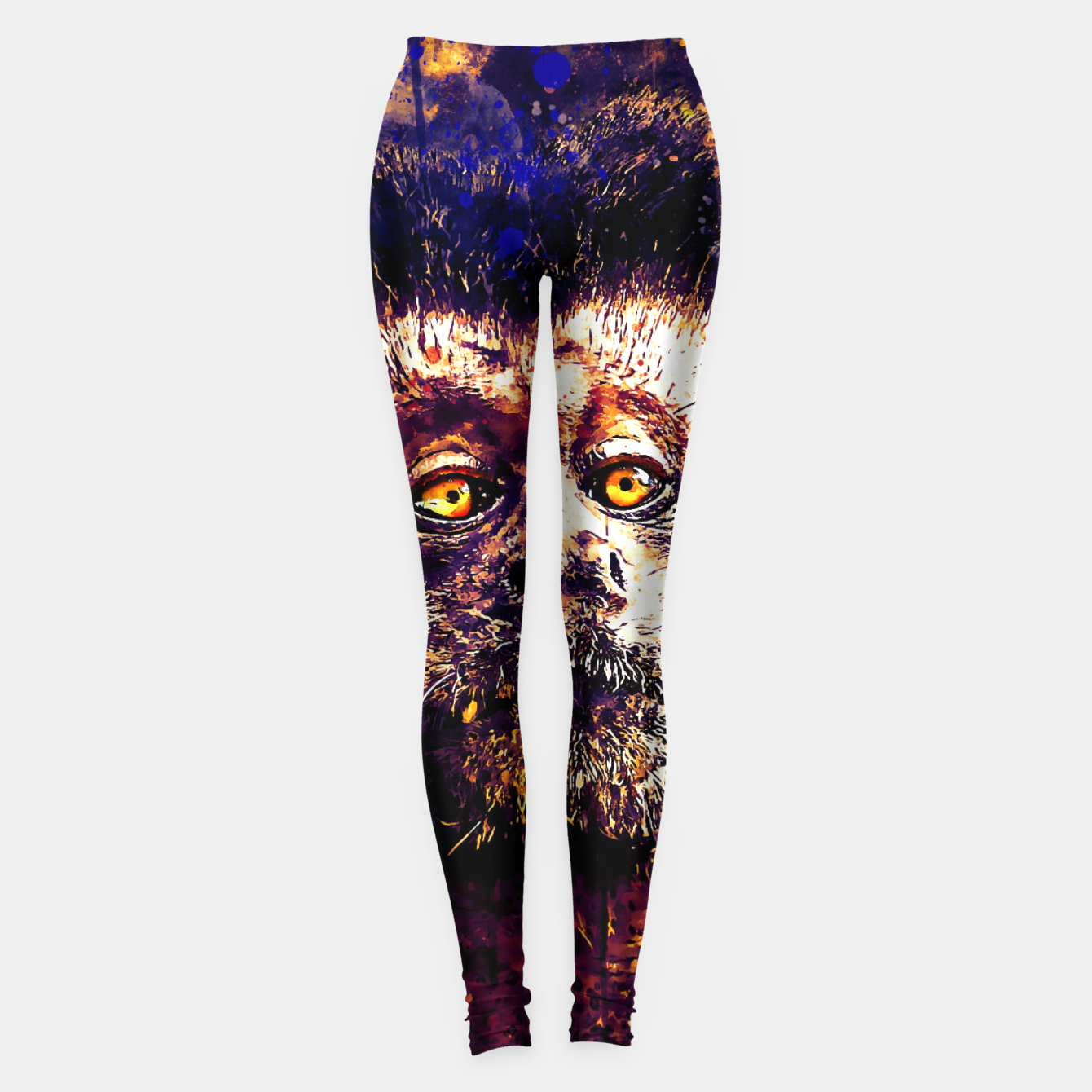 Image of bored monkey wsls Leggings - Live Heroes