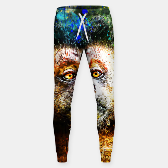bored monkey wsstd Sweatpants thumbnail image