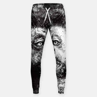 bored monkey wsbw Sweatpants thumbnail image