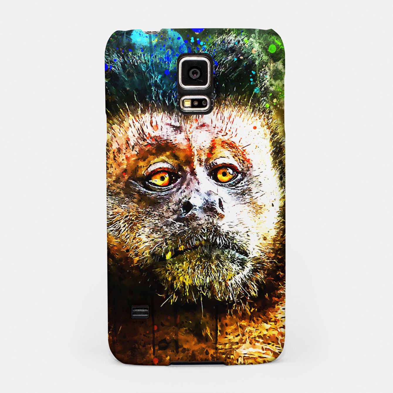 Image of bored monkey wsstd Samsung Case - Live Heroes