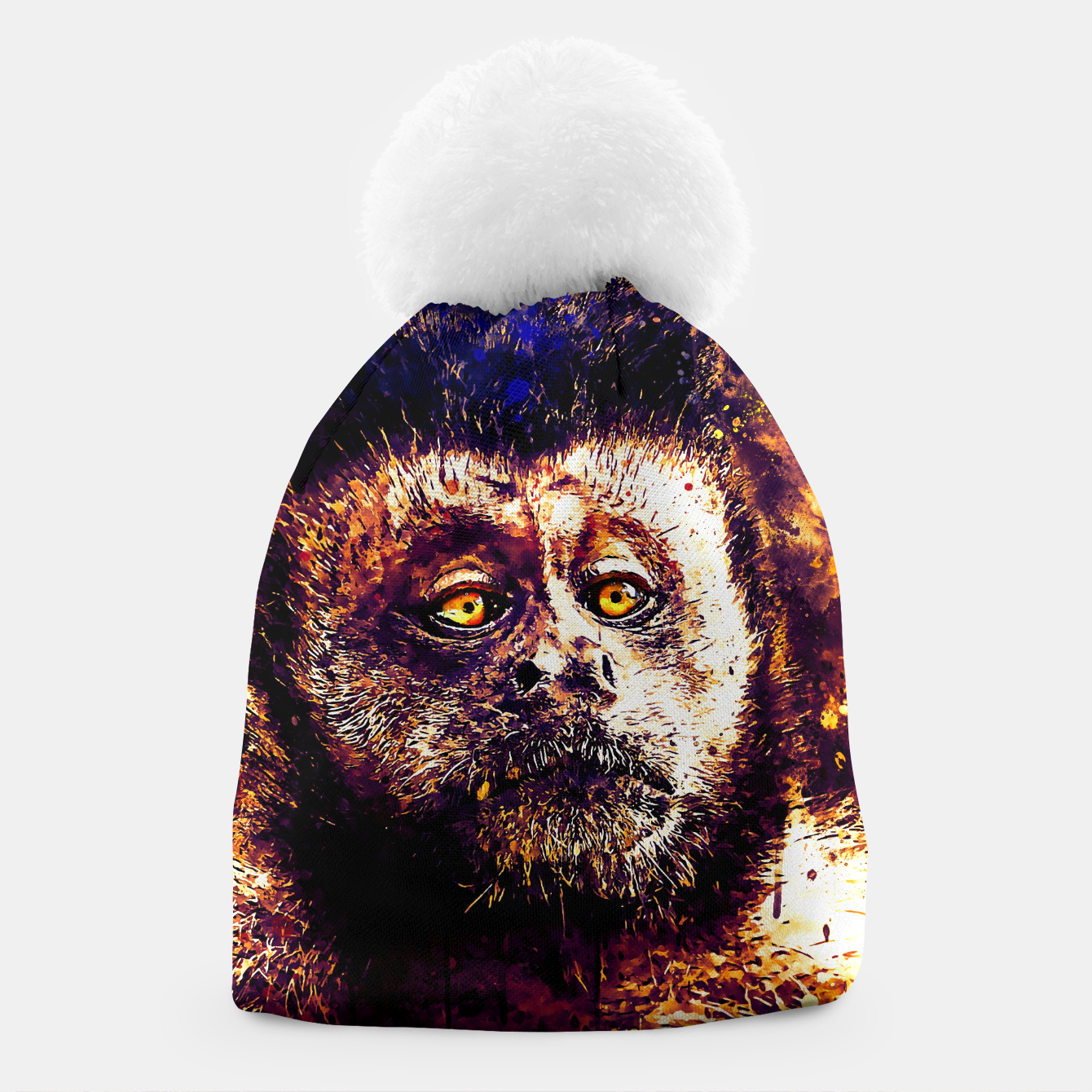 Image of bored monkey wsls Beanie - Live Heroes