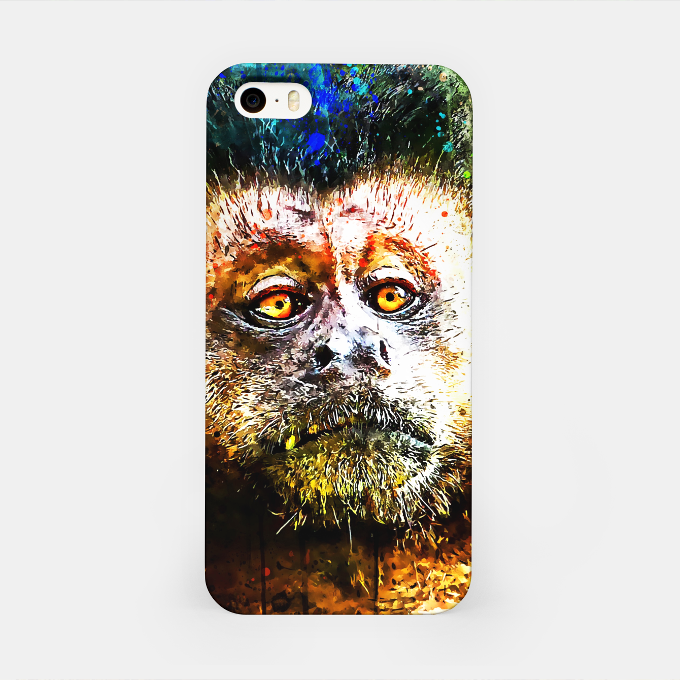 Image of bored monkey wsstd iPhone Case - Live Heroes