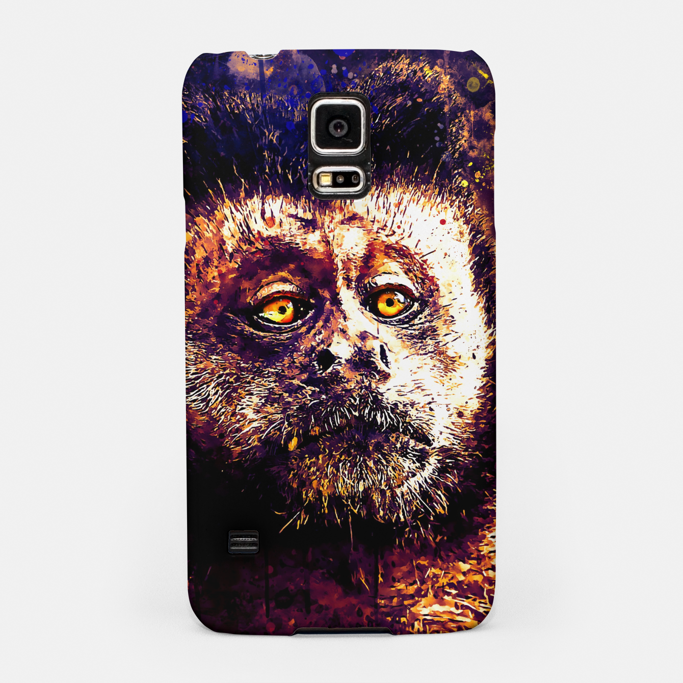 Image of bored monkey wsls Samsung Case - Live Heroes