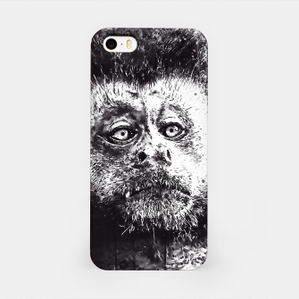 bored monkey wsbw iPhone Case thumbnail image