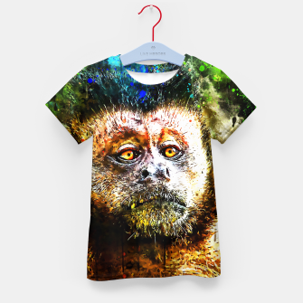 bored monkey wsstd Kid's t-shirt thumbnail image
