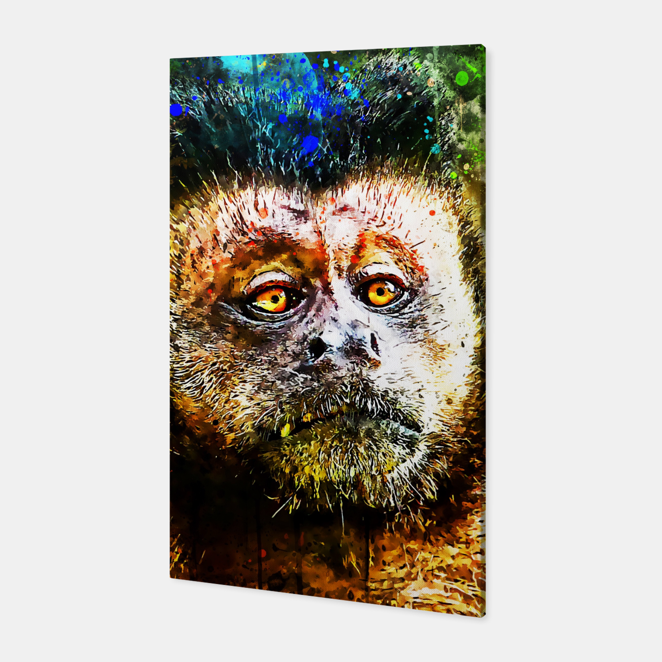 Image of bored monkey wsstd Canvas - Live Heroes