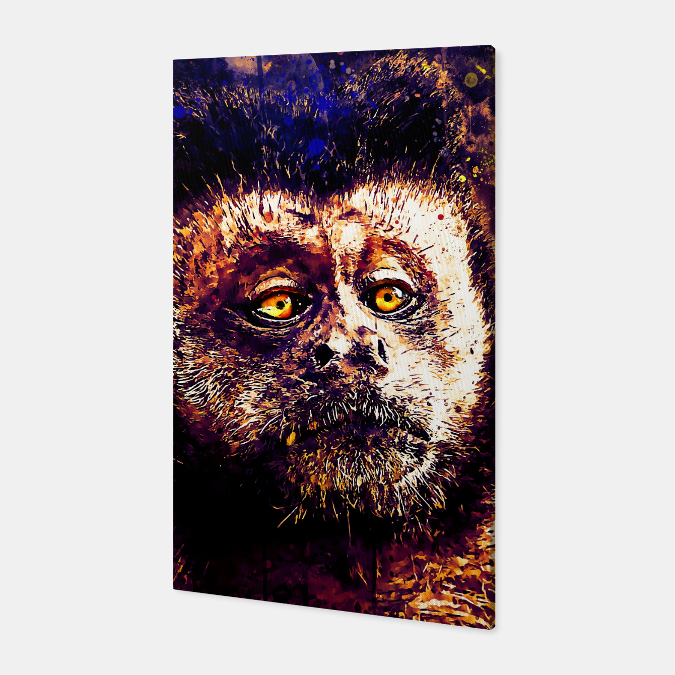 Image of bored monkey wsls Canvas - Live Heroes