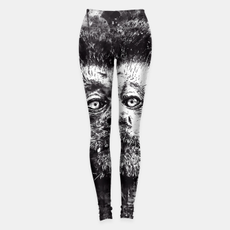 bored monkey wsbw Leggings thumbnail image