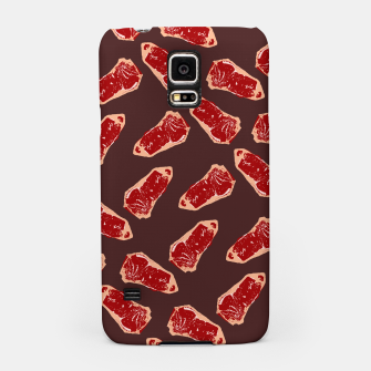 Thumbnail image of Red Meat Samsung Case, Live Heroes