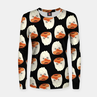Thumbnail image of Howard the Duck Women sweater, Live Heroes