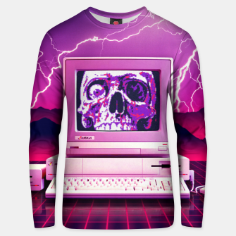 Thumbnail image of Rise of the Machines Unisex sweater, Live Heroes