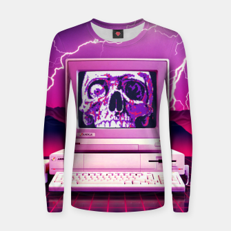 Thumbnail image of Rise of the Machines Women sweater, Live Heroes