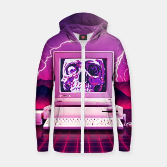 Thumbnail image of Rise of the Machines Zip up hoodie, Live Heroes