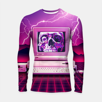 Thumbnail image of Rise of the Machines Longsleeve rashguard , Live Heroes