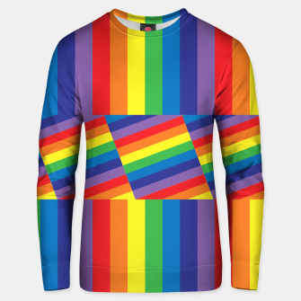 Thumbnail image of Rainbow Unisex sweater, Live Heroes