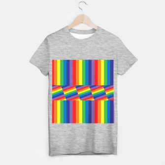 Thumbnail image of Rainbow T-shirt regular, Live Heroes