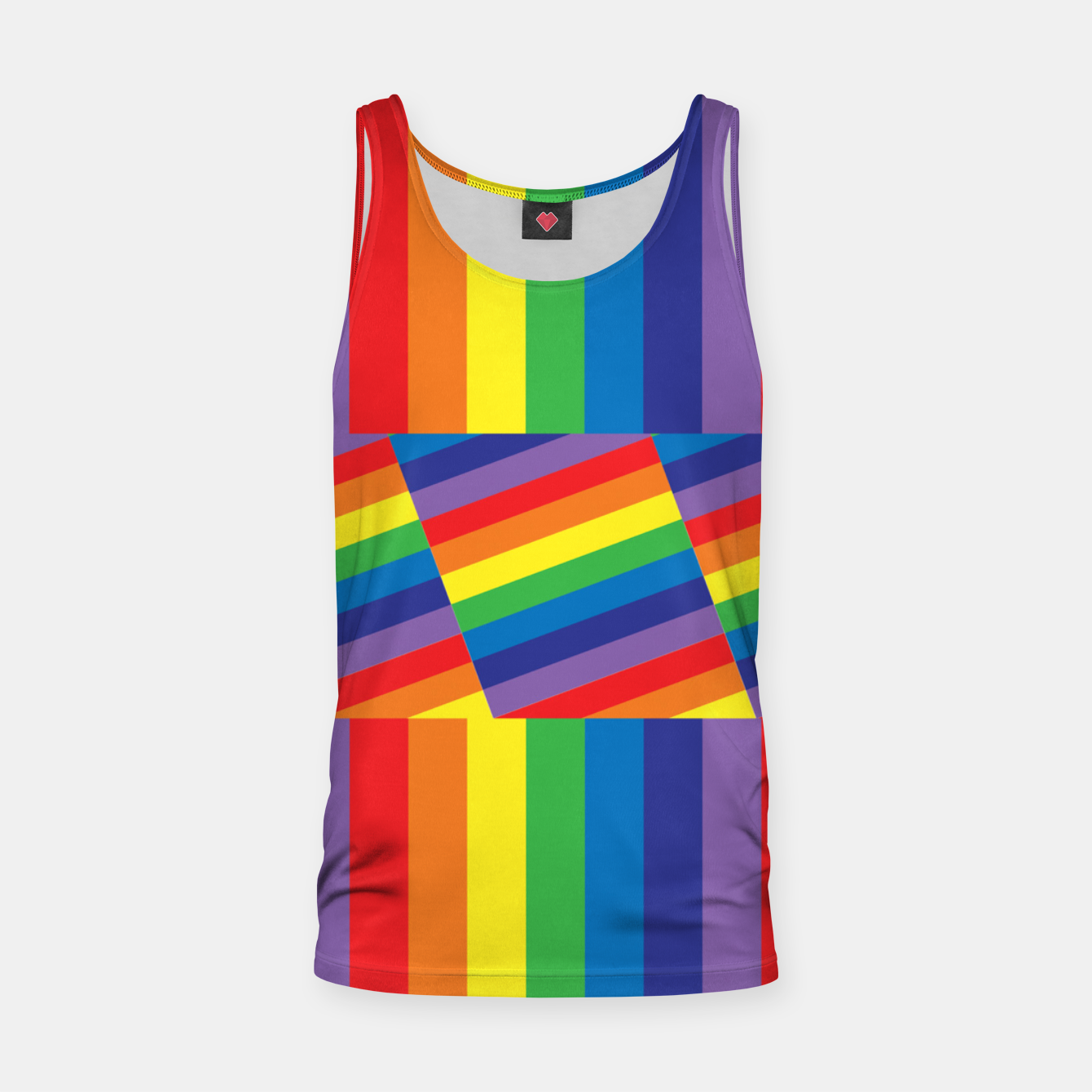 Image of Rainbow Tank Top - Live Heroes
