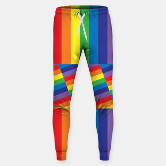 Thumbnail image of Rainbow Sweatpants, Live Heroes