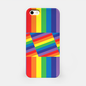 Thumbnail image of Rainbow iPhone Case, Live Heroes