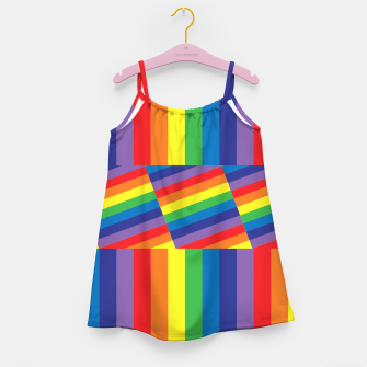 Thumbnail image of Rainbow Girl's dress, Live Heroes