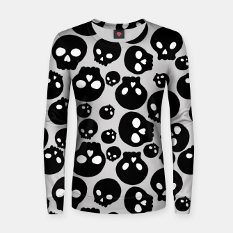 Thumbnail image of Skulls Women sweater, Live Heroes