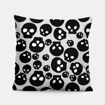 Thumbnail image of Skulls Pillow, Live Heroes