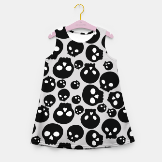 Skulls Girl's summer dress thumbnail image
