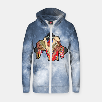 Thumbnail image of Rafiki Vibes 3 Zip up hoodie, Live Heroes
