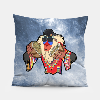 Thumbnail image of Rafiki Vibes 3 Pillow, Live Heroes