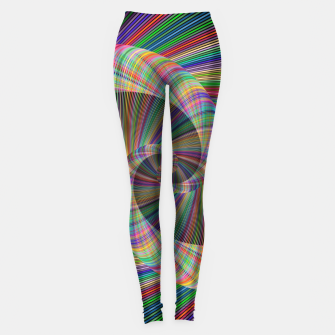 Miniatur Colorful Spiral Leggings, Live Heroes