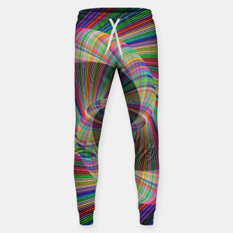 Miniatur Colorful Spiral Sweatpants, Live Heroes