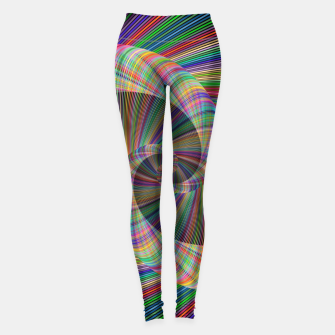 Thumbnail image of Colorful Spiral Leggings, Live Heroes