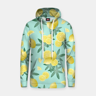Thumbnail image of Lemon Twist Vibes #4 #tropical #fruit #decor #art  Kapuzenpullover, Live Heroes