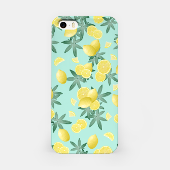 Lemon Twist Vibes #4 #tropical #fruit #decor #art  iPhone-Hülle obraz miniatury