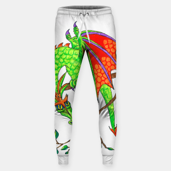 Thumbnail image of dragon in tree sweatpants, Live Heroes