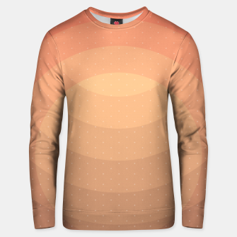 Thumbnail image of Coffee Sunset Abstract Geometric Circles Unisex sweater, Live Heroes