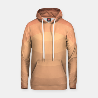Thumbnail image of Coffee Sunset Abstract Geometric Circles Hoodie, Live Heroes