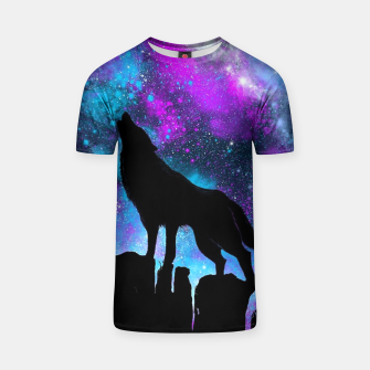 Thumbnail image of Space Howl T-shirt, Live Heroes