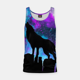 Thumbnail image of Space Howl Tank Top, Live Heroes