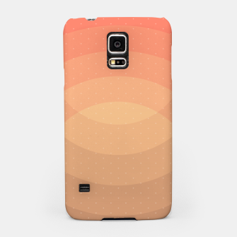 Thumbnail image of Coffee Sunset Abstract Geometric Circles Samsung Case, Live Heroes