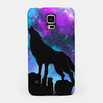 Thumbnail image of Space Howl Samsung Case, Live Heroes