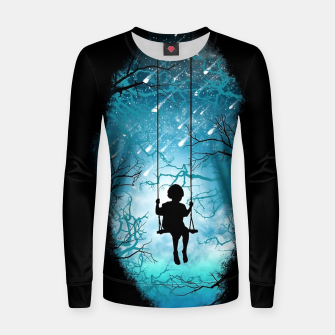 Thumbnail image of Playful Mind Women sweater, Live Heroes