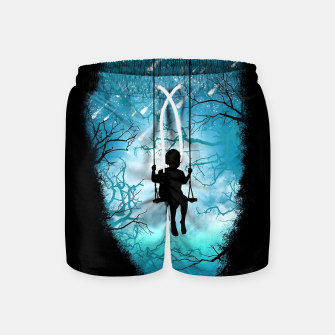Miniatur Playful Mind Swim Shorts, Live Heroes