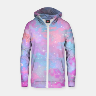 Psychedelic Space Zip up hoodie thumbnail image